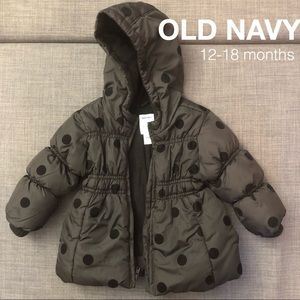 🎀 Old Navy Coat. 12-18 months. 🎀